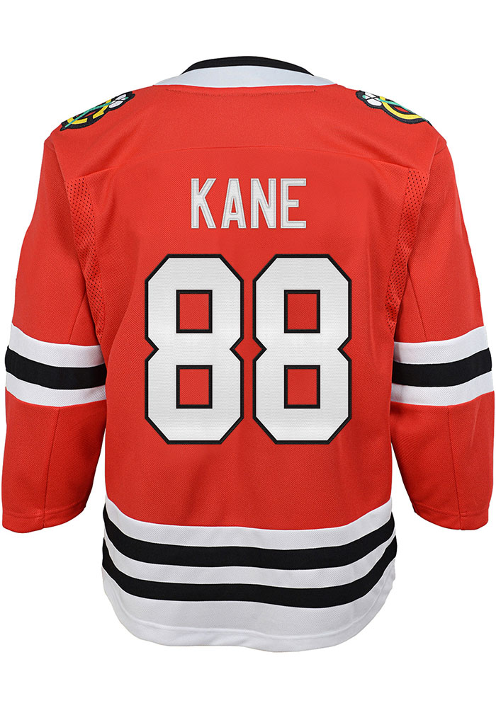 Patrick Kane Outer Stuff Chicago Blackhawks Baby Red Replica Jersey Hockey Jersey - Image 1