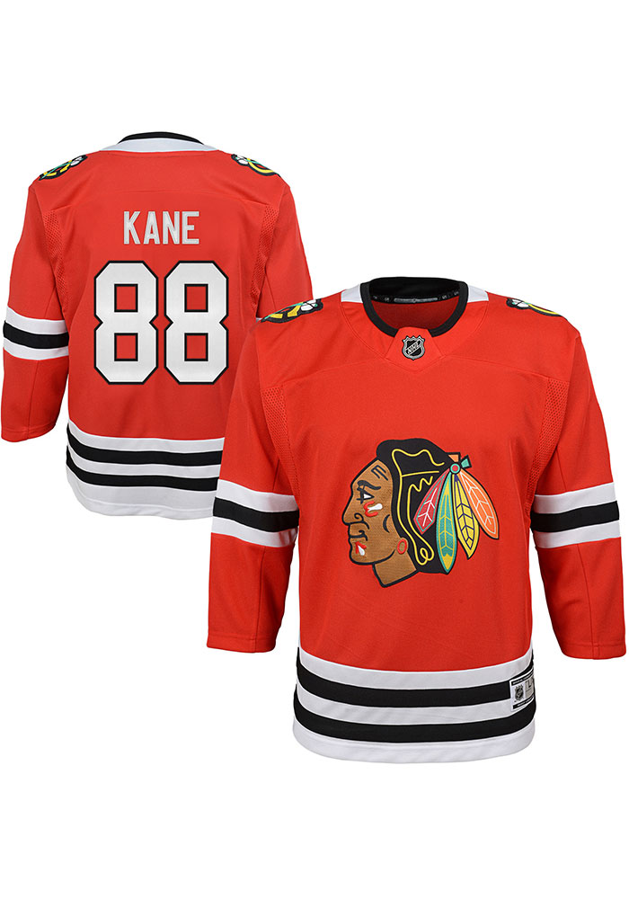 Patrick Kane Outer Stuff Chicago Blackhawks Baby Red Replica Jersey Hockey Jersey - Image 2