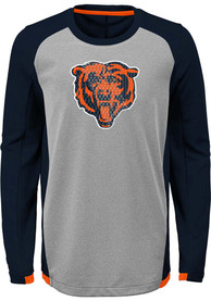Chicago Bears Youth Mainframe T-Shirt - Navy Blue