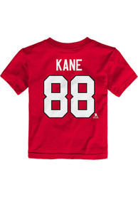 Patrick Kane Chicago Blackhawks Toddler Outer Stuff Player T-Shirt - Red