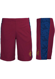 Cleveland Cavaliers Youth Shooter Shorts - Red