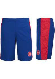 Detroit Pistons Youth Shooter Shorts - Blue