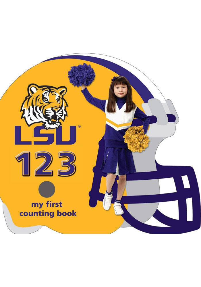 LSU Tigers My First 123 Counting Children's Book - Image 1