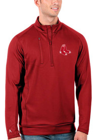 Boston Red Sox Antigua Generation 1/4 Zip Pullover - Red