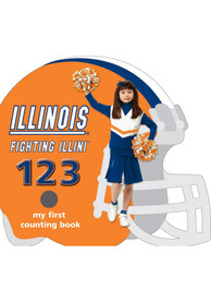 Illinois Fighting Illini My First 123 Counting Children's Book