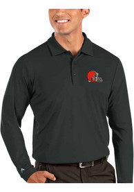 Cleveland Browns Antigua Tribute Polo Shirt - Grey