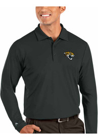 Jacksonville Jaguars Antigua Tribute Polo Shirt - Grey