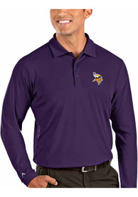 Minnesota Vikings Antigua Tribute Polo Shirt - Purple