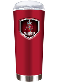 Tampa Bay Buccaneers Super Bowl LV Champions 18oz Stainless Steel Tumbler - Red
