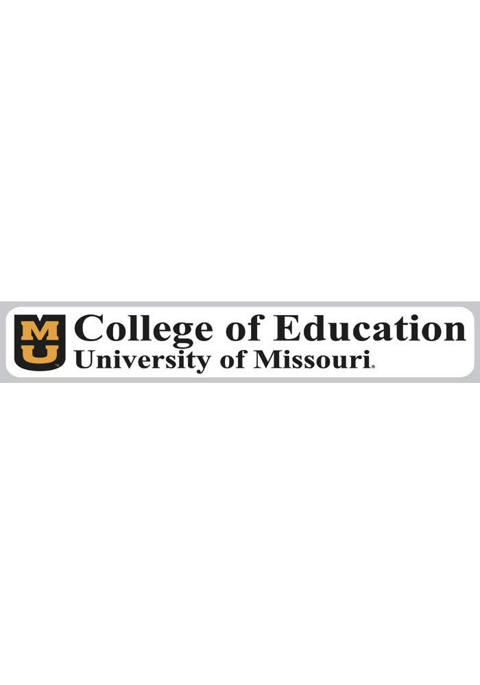 Missouri Tigers 2x11 College of Education Decal - Image 1