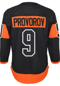 Ivan Provorov Philadelphia Flyers Youth Premier Hockey Jersey - Black