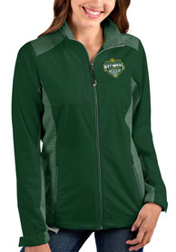 Baylor Bears Womens Antigua 2021 National Champion Revolve Light Weight Jacket - Green