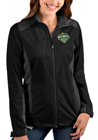 Baylor Bears Womens Antigua 2021 National Champion Revolve Light Weight Jacket - Black