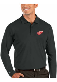Detroit Red Wings Antigua Tribute Polo Shirt - Grey