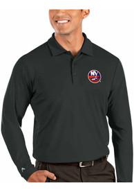 New York Islanders Antigua Tribute Polo Shirt - Grey