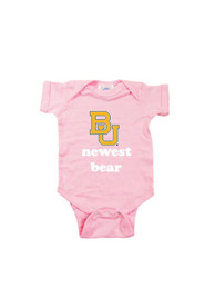 Baylor Bears Baby Pink Newest One Piece