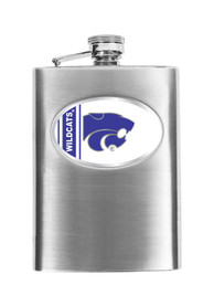K-State Wildcats 8oz Stainless Steel Flask