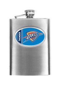 Oklahoma City Thunder Stainless Steel Flask