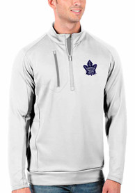 Toronto Maple Leafs Antigua Generation 1/4 Zip Pullover - White