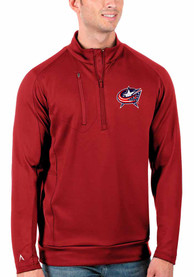 Columbus Blue Jackets Antigua Generation 1/4 Zip Pullover - Red