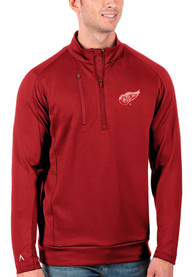 Detroit Red Wings Antigua Generation 1/4 Zip Pullover - Red