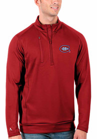 Montreal Canadiens Antigua Generation 1/4 Zip Pullover - Red