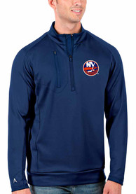New York Islanders Antigua Generation 1/4 Zip Pullover - Blue