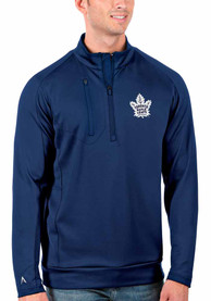 Toronto Maple Leafs Antigua Generation 1/4 Zip Pullover - Blue