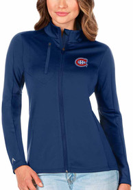 Montreal Canadiens Womens Antigua Generation Light Weight Jacket - Blue