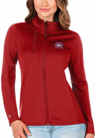 Montreal Canadiens Womens Antigua Generation Light Weight Jacket - Red