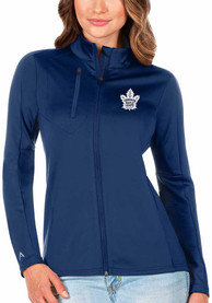 Toronto Maple Leafs Womens Antigua Generation Light Weight Jacket - Blue