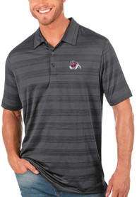 Fresno State Bulldogs Antigua Compass Polo Shirt - Grey