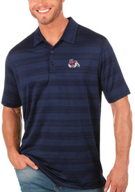 Fresno State Bulldogs Antigua Compass Polo Shirt - Navy Blue