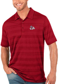 Fresno State Bulldogs Antigua Compass Polo Shirt - Red