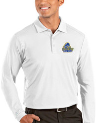 Delaware Fightin' Blue Hens Antigua Tribute Polo Shirt - White