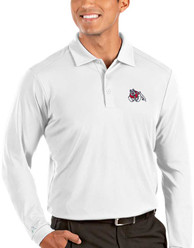 Fresno State Bulldogs Antigua Tribute Polo Shirt - White