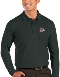Fresno State Bulldogs Antigua Tribute Polo Shirt - Grey