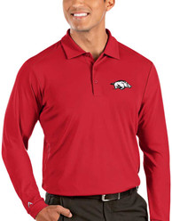 Arkansas Razorbacks Antigua Tribute Polo Shirt - Red