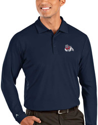 Fresno State Bulldogs Antigua Tribute Polo Shirt - Navy Blue