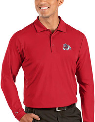 Fresno State Bulldogs Antigua Tribute Polo Shirt - Red