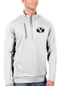 BYU Cougars Antigua Generation 1/4 Zip Pullover - White