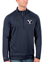 BYU Cougars Antigua Generation 1/4 Zip Pullover - Navy Blue