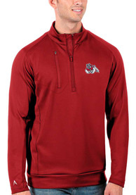 Fresno State Bulldogs Antigua Generation 1/4 Zip Pullover - Red
