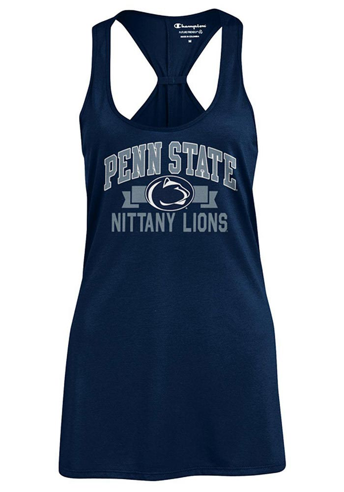 65f1b9b03a5c Champion Penn State Nittany Lions Juniors Navy Blue Swing Tank Top - Image 1