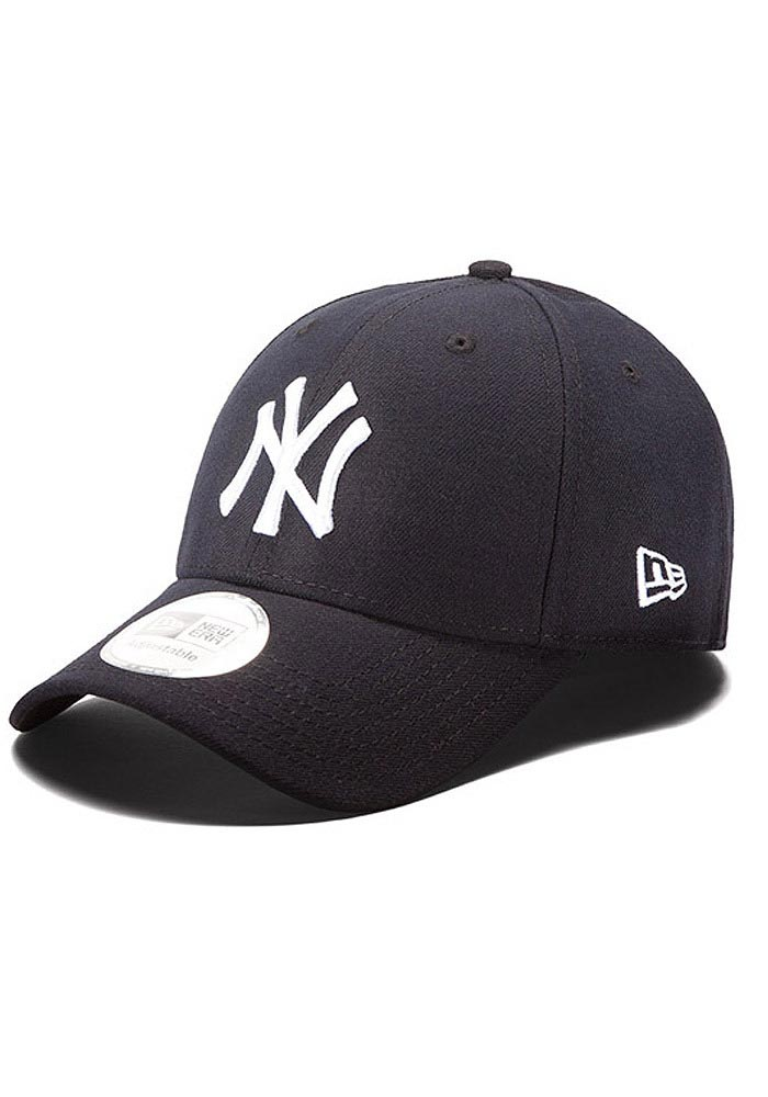 New Era New York Yankees Mens Navy Blue The League 9FORTY Adjustable Hat - Image 1
