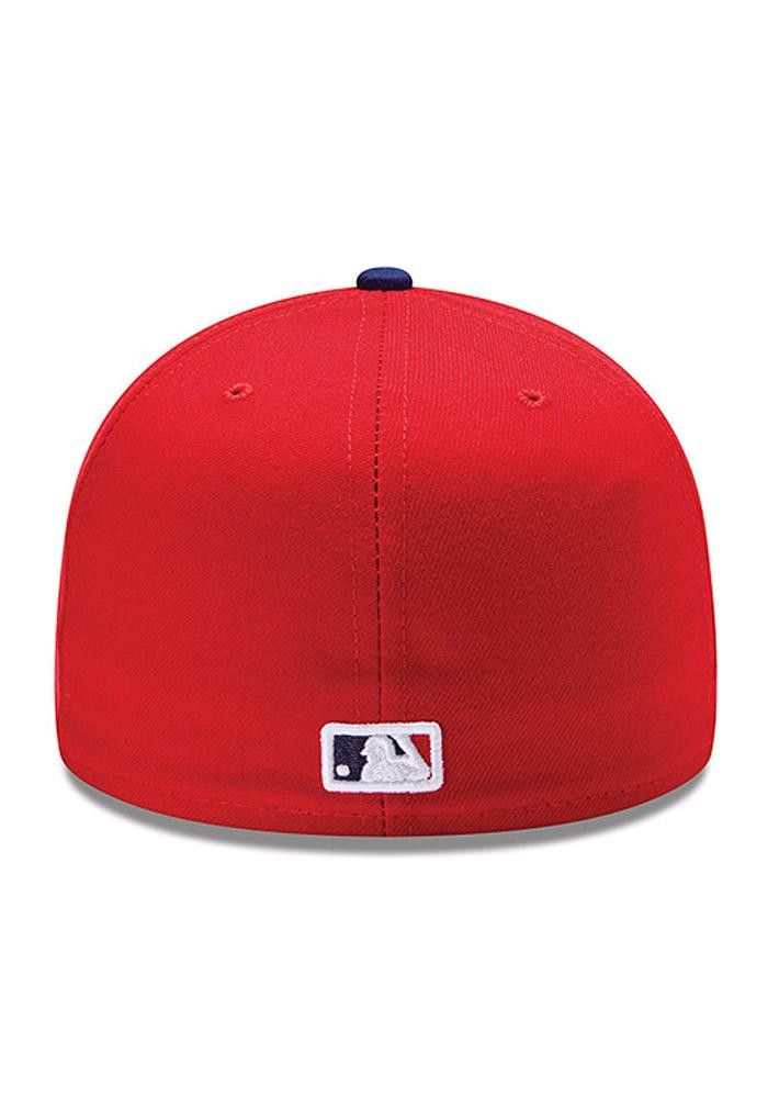 New Era Philadelphia Phillies Mens Red Home AC 59FIFTY Fitted Hat - Image 4