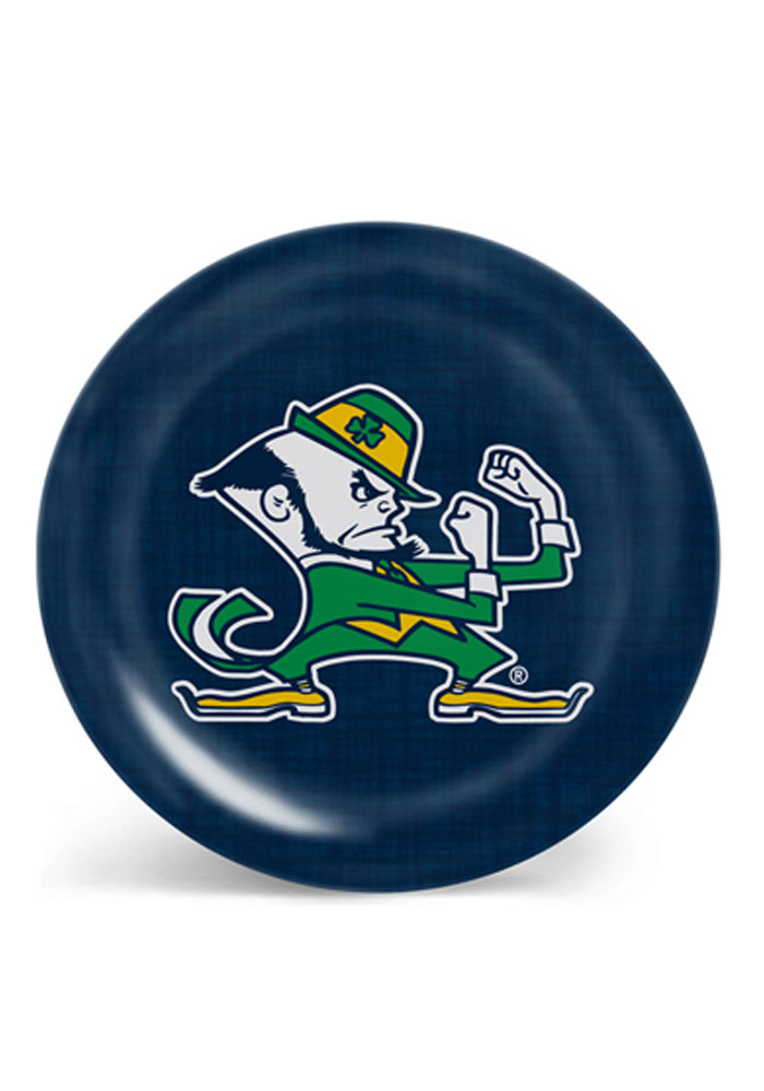 Notre Dame Fighting Irish Canvas Print Melamine Plate - Image 1