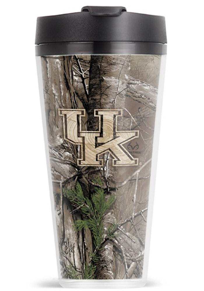 Kentucky Wildcats Voyager Camo Travel Mug - Image 1