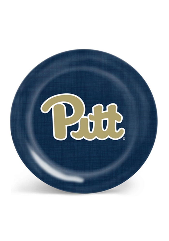 Pitt Panthers Canvas Print Melamine Plate - Image 1