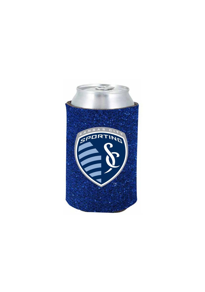 Sporting Kansas City Blue Glitter Can Coolie - Image 1